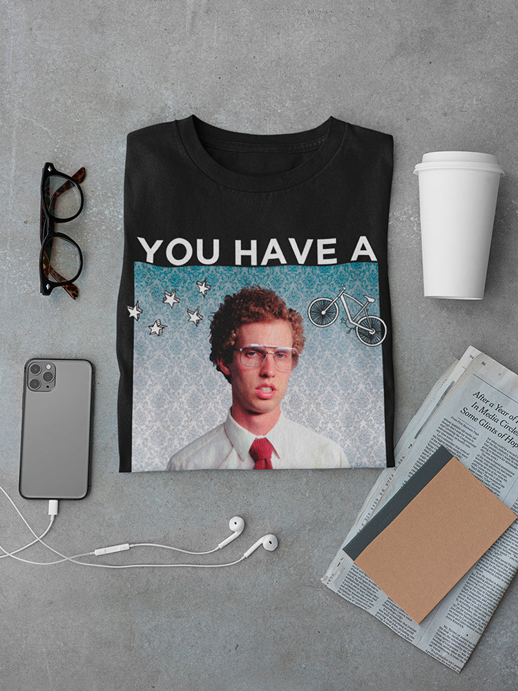 Napoleon Dynamite You Have A Sweet Bike Quote Men's T-shirt