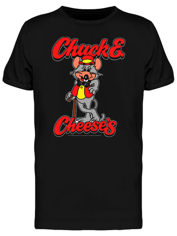 Chuck & Cheese's Retro Mouse Graphic Men's T-shirt