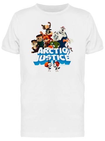 Arctic Justice Thunder Squad Movie Graphic Men's T-shirt