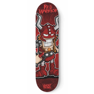 Red Warrior Skateboard