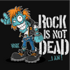 Rock is not Dead Zombie T-Shirt