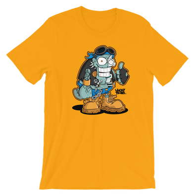 Biker Zombie Single Toon T-Shirt
