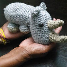 Load image into Gallery viewer, Rhino Plush Toy Donation - Limited Edition