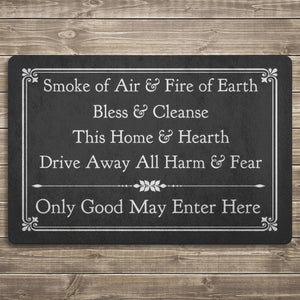 Only Good May Enter Here - Door Mat
