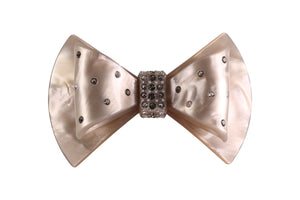 Pearly Bow Barrette