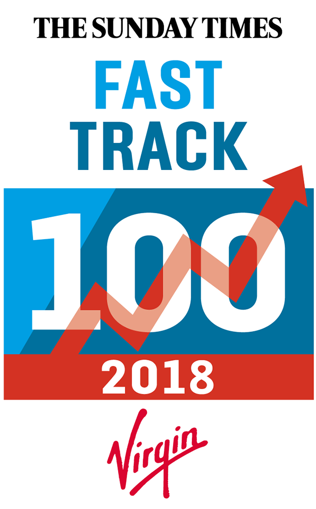 "The Sunday Times ""Fast Track 100"" 2018"
