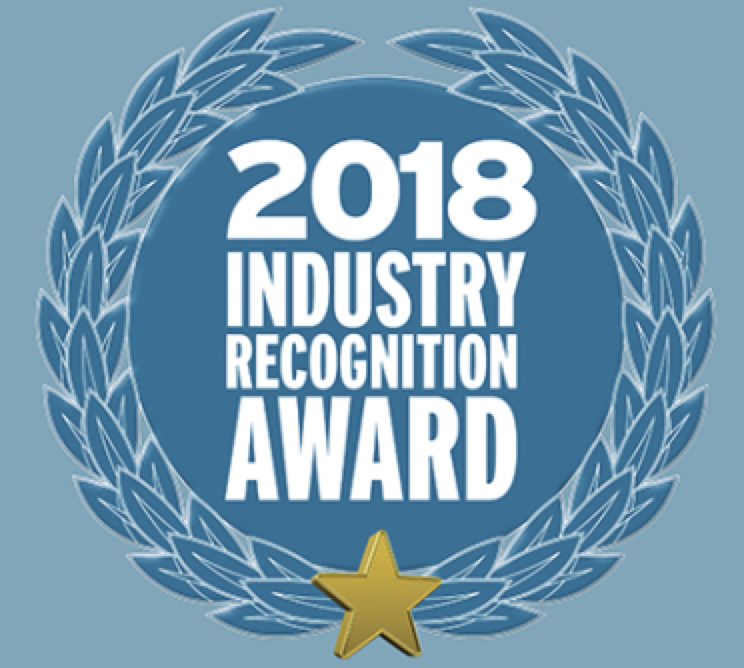 2018 Industry Recognition Award