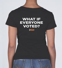 What if Everyone Voted Women's V-neck