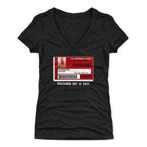 Mike Sorrentino Women's V-Neck T-Shirt | 500 LEVEL