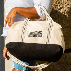 Bout My Black Owned Business - Duffel Bag