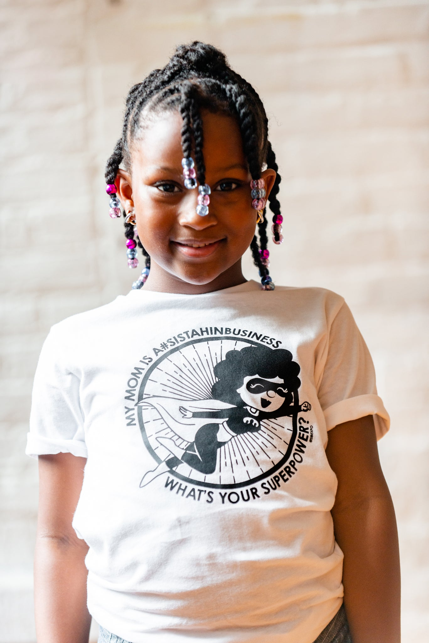 My Mom is a #SistahinBusiness - Youth Tee