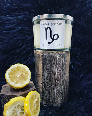 Capricorn Zodiac Sign Candle