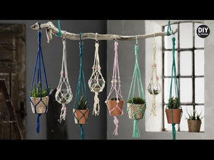 Nobody's missed the hanging pot trend taking over the interior design world, right? In this video, we'll show you how to make fabulous hanging pot holders for ...