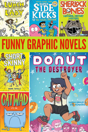 Inside: Laugh out loud with our collection of 15+ funny graphic novels for kids.