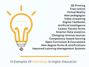 14 Examples Of Innovation In Higher Education