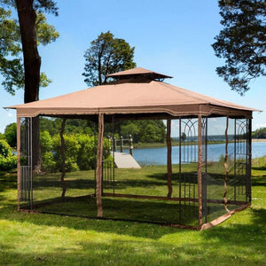 A gazebo is the perfect structure to fill a backyard area with, assuming you have the space for one