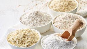 Wondering when to use the different types of flour? You're not alone! There are so many varieties out there, it can be seriously confusing