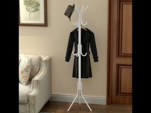 Casa 12 Hook Hanging Pole Rack Clothes Hanger Coat stand Storage.