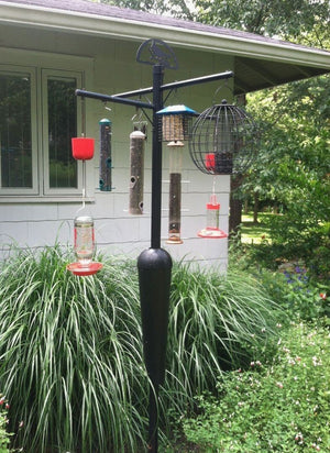 Remarkable Bird Feeder Pole