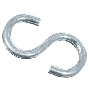 Super Strong Metal Hanging S Shaped Hooks – Heavy Duty – Various Pack Sizes –Comes in thickness of 9/32 Inch, and 2 ½ Inch Overall Length