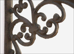 Cast Iron Decorative Bracket with Plant Hook