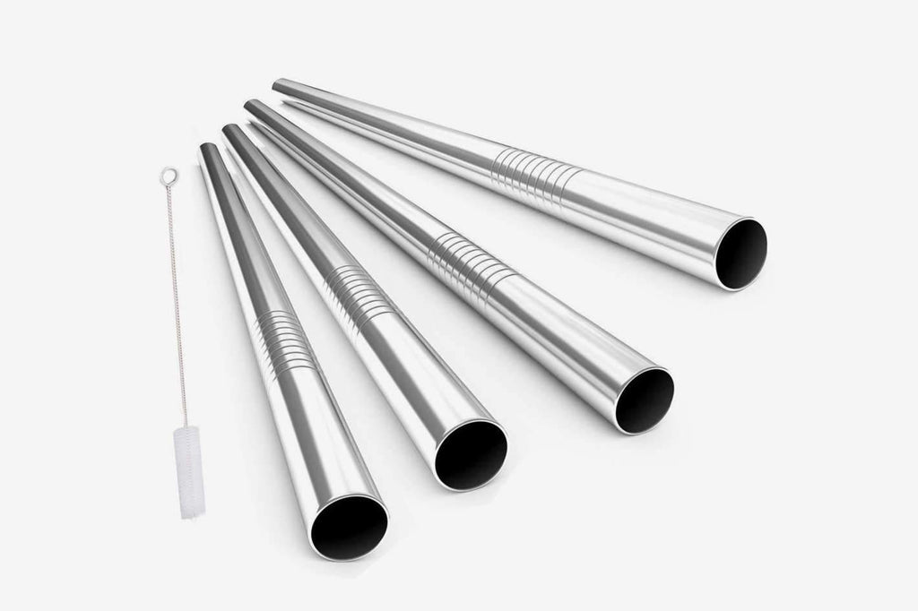 STAINLESS STEEL STRAWS - The clear champions of reusable straws