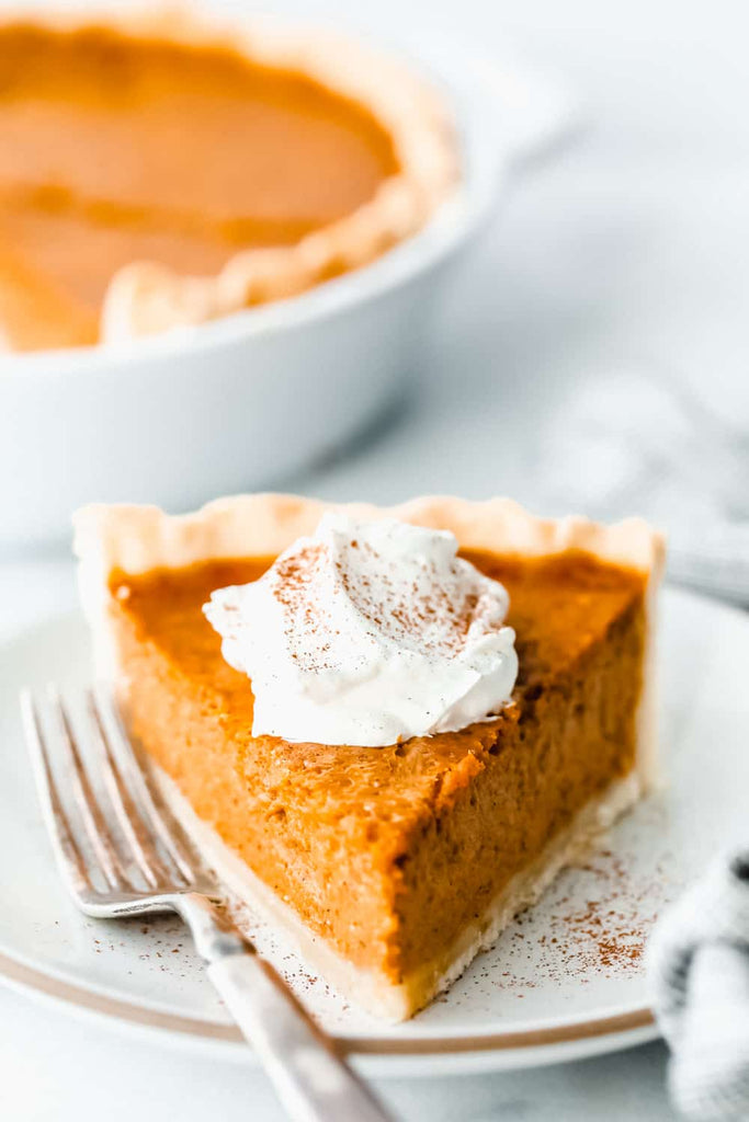 Grandma's Famous Pumpkin Pie is smooth, thick, and creamy!  A MUST for the holidays and the best when served with a big scoop of whip cream on top!