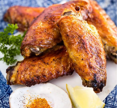 With only 3 ingredients, these Japanese Salted Chicken Wings (Teba Shio) are