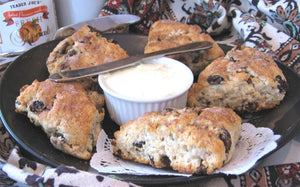 High Country Baking: Oat scone