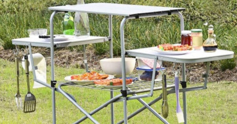 Portable Folding Grilling Table w/ Carrying Case Only $48.99 Shipped (Regularly $151)