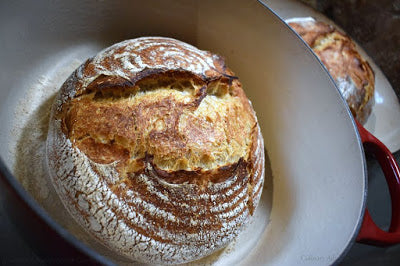 Sourdough Rye Boule #BreadBakers