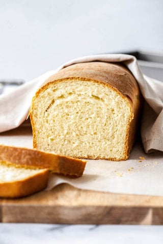 This easy Homemade Bread Recipe uses a plastic ziplock bag to make perfect, extra soft, white sandwich bread every time