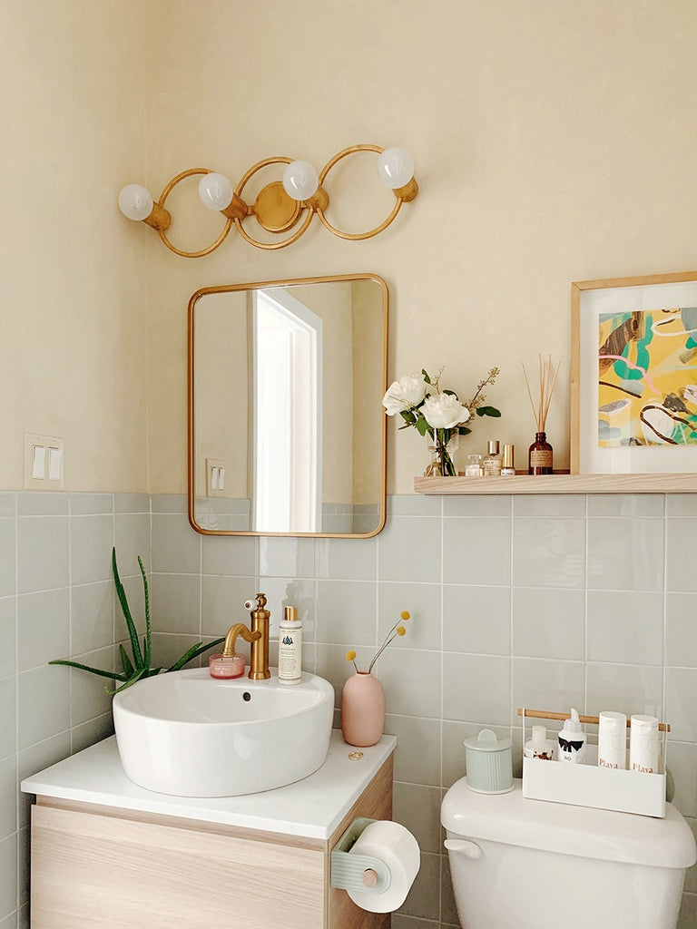 12 Bathroom IKEA Hacks That Actually Work in Small Space