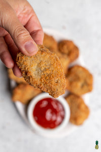 Kid-Friendly Vegan Chicken Nuggets