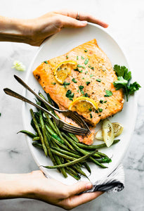 5-Ingredient Maple Dijon Salmon
