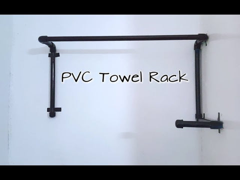 How To Make A Towel Rack | PVC Towel Rack