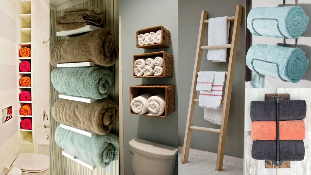 Some Towel Display ideas are here: 1