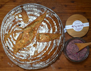 Morada Sourdough Rye Boule #CraftSalts