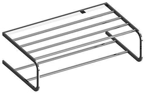 "WS Bath Collections Deva Collection Towel Rack, 19.7"", Polished Chrome"