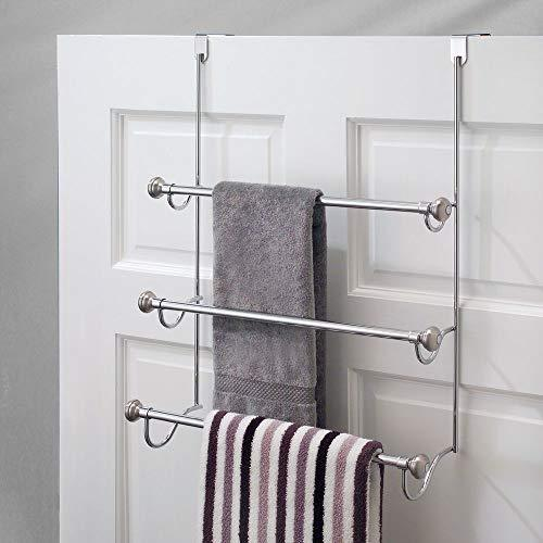 Dosingo Over-the-Shower Door Triple Towel Rack