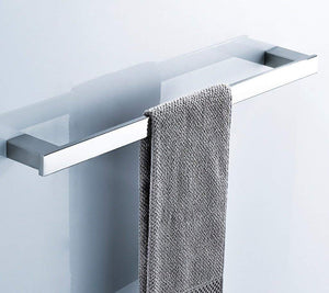 Storage Rack Bath Rooms Rack Towel Rack Place Wall Mount Towel Holder Stainless Steel Single Towel Rack Bath Rooms Bath Rooms Bath Rooms Kitchen Towel Minimalist Rack Towel Rack Shelf (Size: 60 cm).