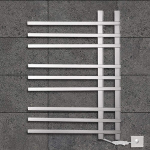 TONGTONG Wall Mounted Electric Towel Rack,Stainless Steel Heated Towel Rail 750560120-90W,201