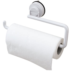 Bathroom Towel Shelf Vacuum Sucker Paper Towel Rack Wall Hanging Roll Paper Rack
