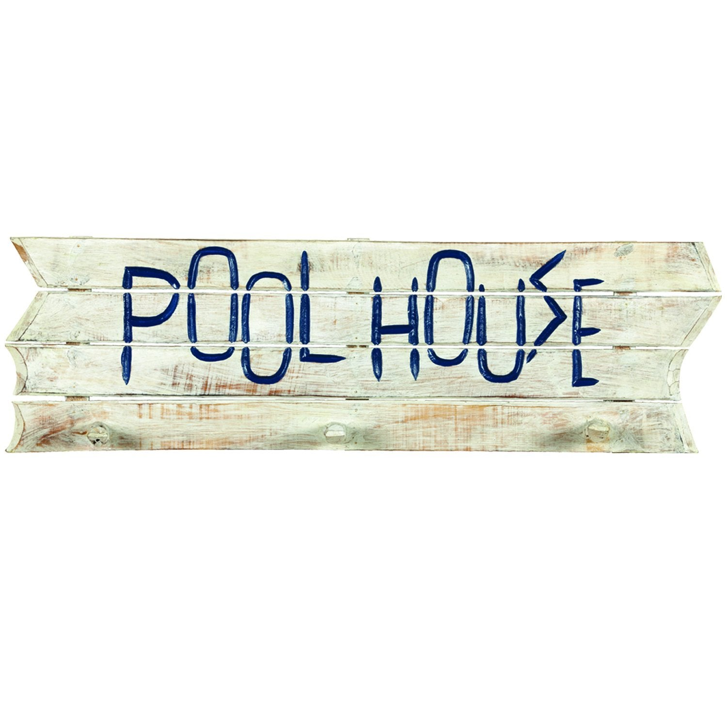 "RAM Game Room ""Pool House"" Acacia Wood Towel Rack"