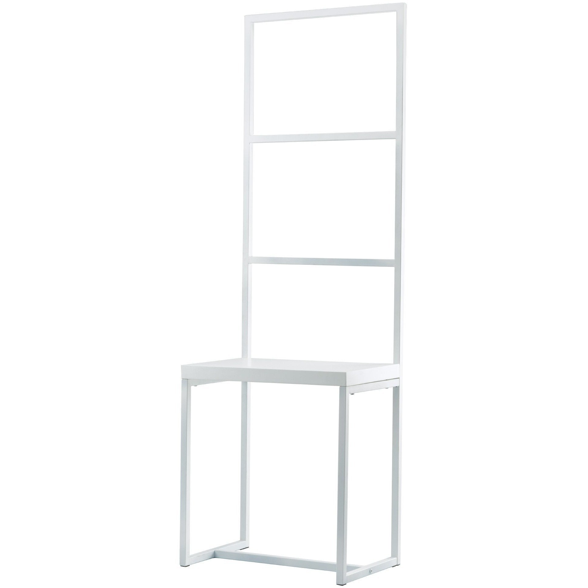 Orto Rubberwood Bathroom Spa Towel Rack Ladder, Towel Holder with Stool Bench