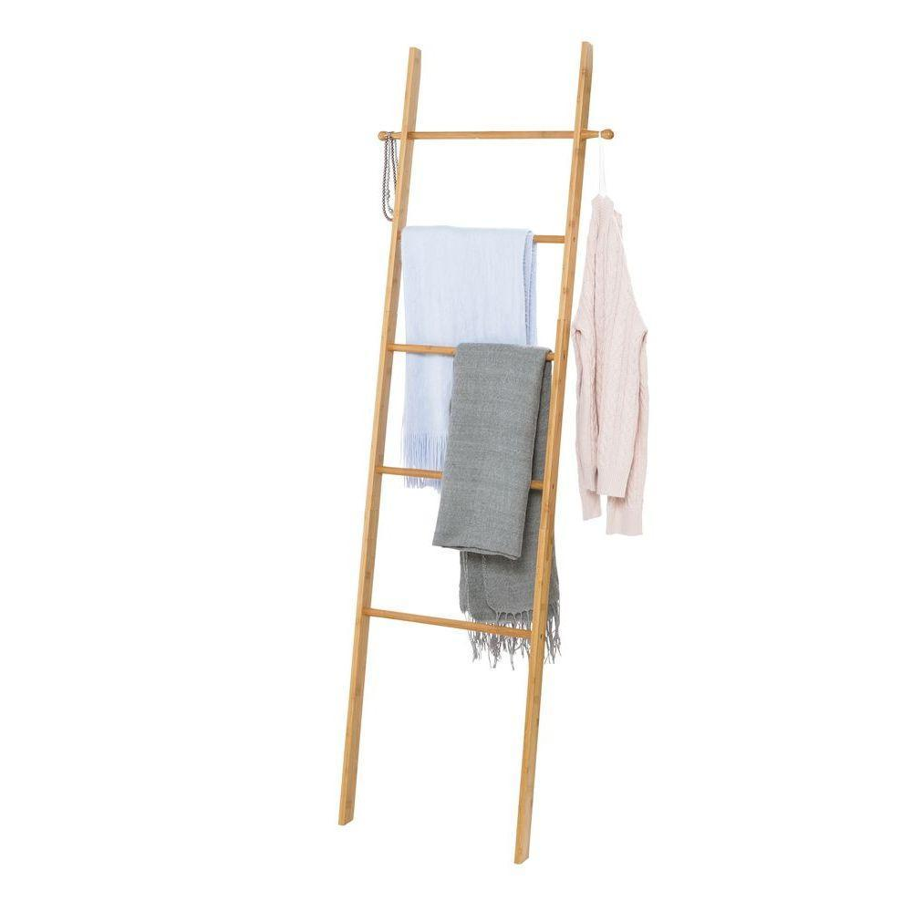 Abu Bamboo Towel Ladder
