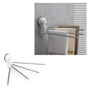 Adjustable Stainless Steel Bathroom Towel Bar  0838