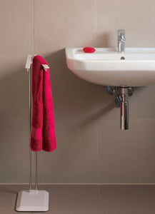 Towel Rack With 2 Swivel Rails
