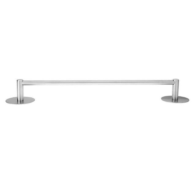 Towel Racks Self Adhesive Stainless Steel Towel Shelf Towel Holder Bedroom Bathroom Storage Clothes Hanger Shelf Silver