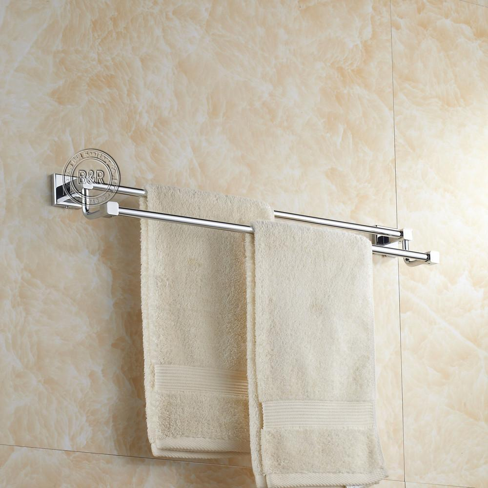 Bath Towel RackBathroom Accessories Products Chrome Towel BarTowel Holder Br87002